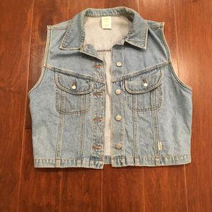 Retro 90's Old Navy Denim Jean Vest